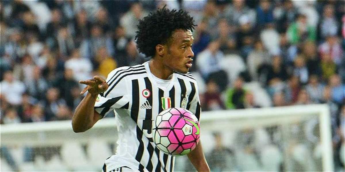 Cuadrado, inicialista en Juventus para visitar a Sevilla, en Champions