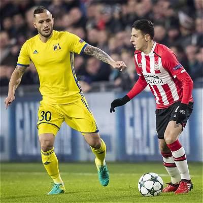 PSV se quedó sin competencia europea en el 2017: empató 0-0 con Rostov