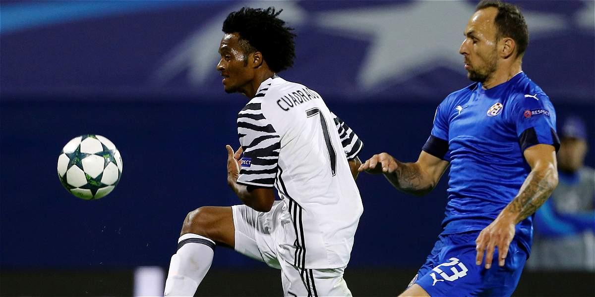Juventus vs. Dinamo Zagreb, oportunidad para Cuadrado en Champions