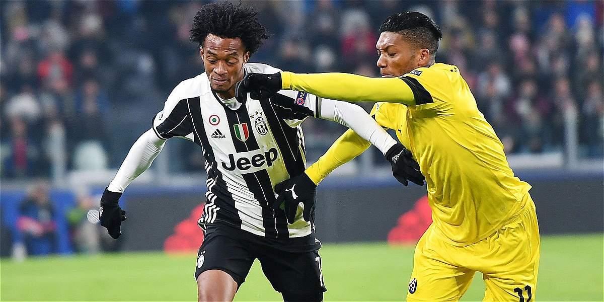 Cuadrado: 90 minutos y buena actuación en 2-0 de Juventus sobre Zagreb