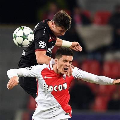 Mónaco, sin Falcao, perdió 3-0 en su visita al Bayer Leverkusen