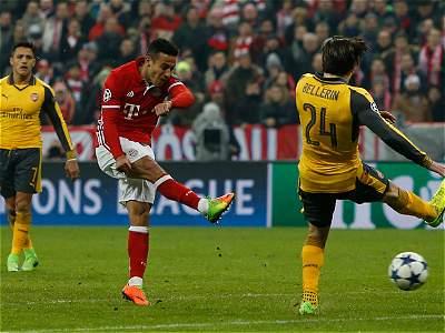 Bayern Múnich vs. Arsenal/GALERÍA