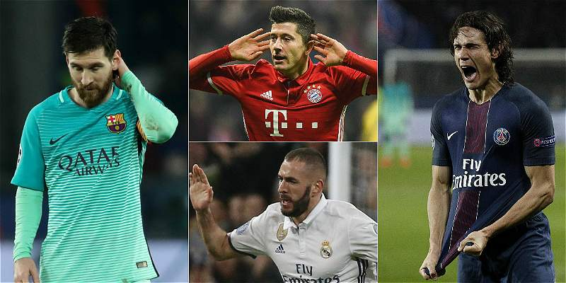 Así marcha la tabla de goleadores en la Liga de Campeones de Europa