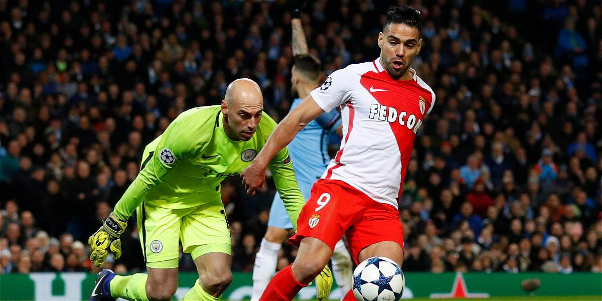 En un partidazo, Manchester City venció 5-3 al Mónaco en la Champions