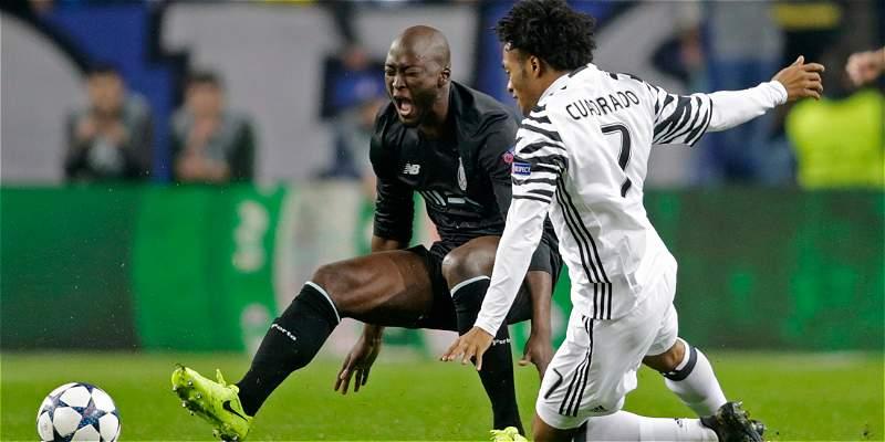 Juventus, con Cuadrado 67 minutos venció 0-2 a Porto, en Champions