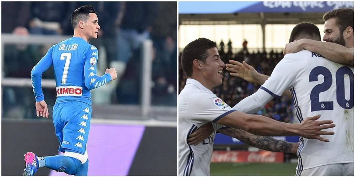 Real Madrid,a cuidar ventaja contra Nápoles en 'infierno' de San Paolo