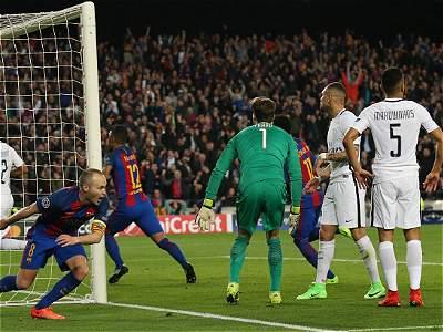 Barcelona vs. PSG/GALERÍA