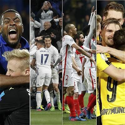 Estos son los ocho equipos que siguen en la disputa de la Champions