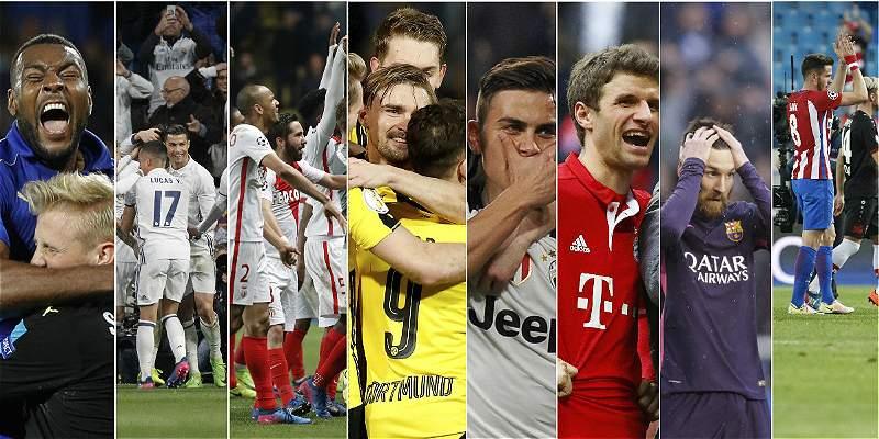 A Cuartos de final de Champions