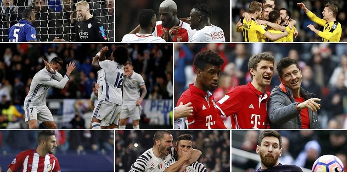 Sorteo de los cuartos de final de la champions league for Champions cuartos de final