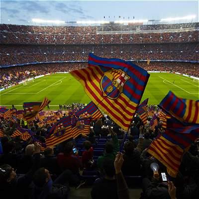 En fotos: el partido entre Barcelona y Juventus por la Champions League