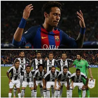 En fotos: el partido entre Barcelona y Juventus por Champions League