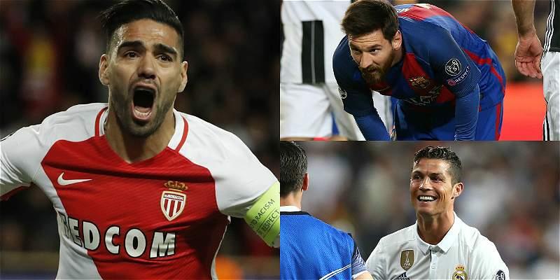 Falcao entre goleadores de la Champions League