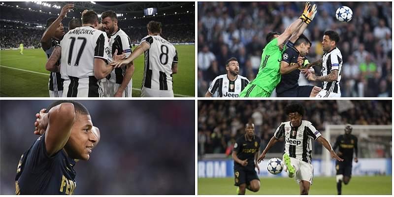 Las mejores fotografías del duelo entre Juventus-Mónaco por Champions