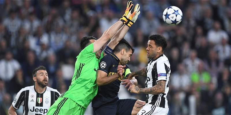 Juventus derrotó 2-1 a Mónaco y es el primer finalista de Champions
