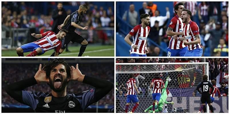 Las mejores fotografías del Atlético vs. Real Madrid, en el Calderón