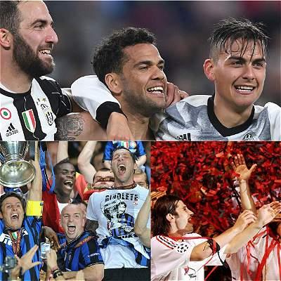 Juventus equipo italiano campeón cada siete años