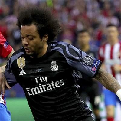 'Somos el Real Madrid y vamos a luchar hasta el final': Marcelo