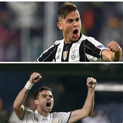 Cifras de Real Madrid y Juventus hacia la final de Champions League