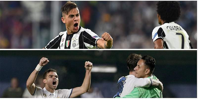 Juventus y Real Madrid cifras