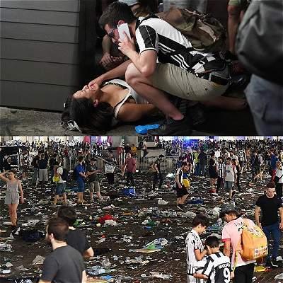 Heridos en Turín