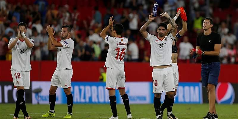 Sevilla a Champions: empató 2-2 con el Basaksehir y accedió a grupos