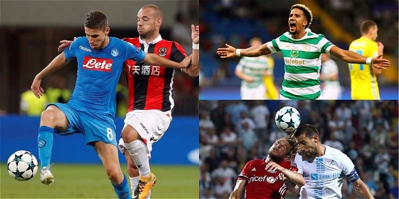 Nápoles, Celtic y Olympiacos pasaron a fase de grupos de Champions