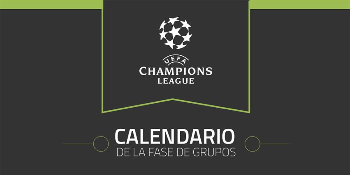 Calendario de la Fase de grupos de la Champions 2017 2018