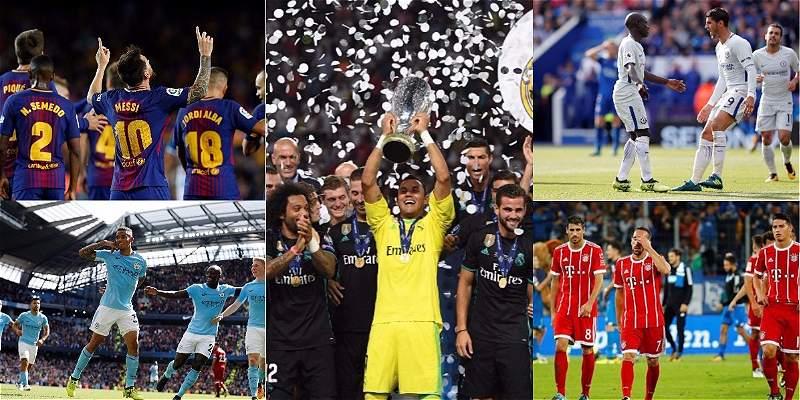 ¡Bienvenida Champions! Los diez clubes más costosos de esta edición