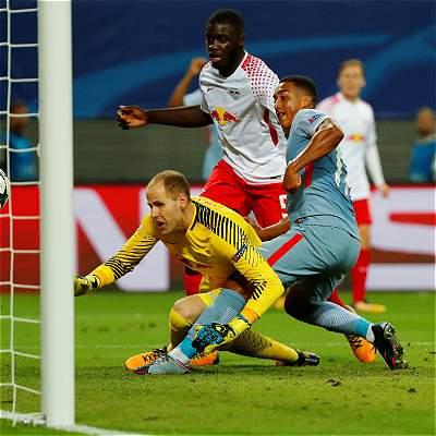 Mónaco inició la Champions con un empate de visitante: 1-1 con Leipzig