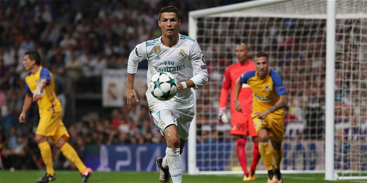 Con Cristiano es diferente: Real Madrid venció 3-0 al Apoel