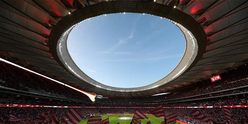 Atlético de Madrid celebra que final de Champions 2019 sea en su casa