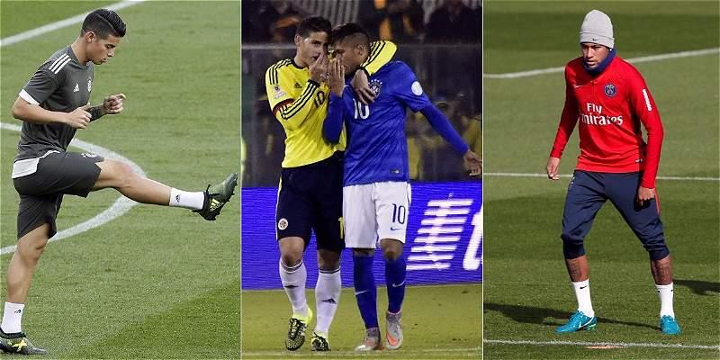 James vs. Neymar, un duelo con historia entre dos jóvenes \'cracks\'