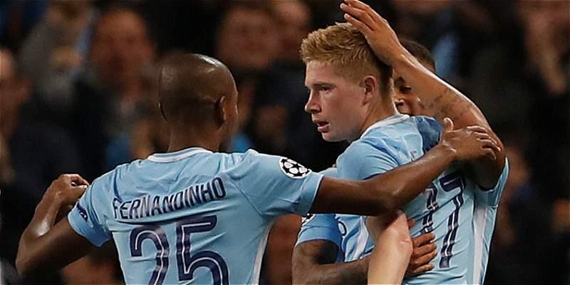 Manchester City hizo respetar su casa y venció 2-0 al Shakhtar Donestk