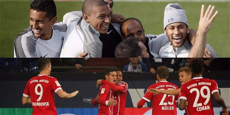 La cifras y números también juegan, PSG vs. Bayern en Champions