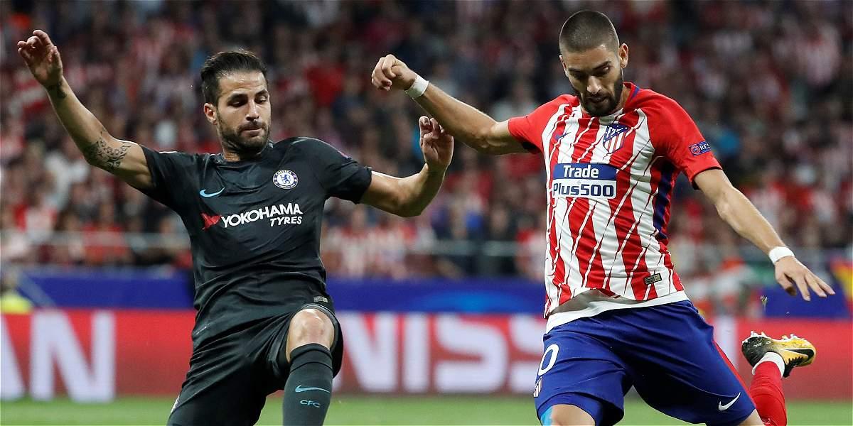 Atlético perdió su primer juego en el Wanda: agónico 1-2 del Chelsea