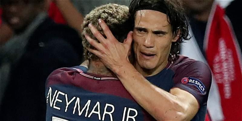PSG golea 3-0 a Bayern Múnich y revive el idilio entre Cavani y Neymar