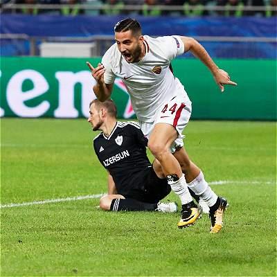 A la Roma ni le sobró ni le faltó, 1-2 contra el Qarabag en Champions