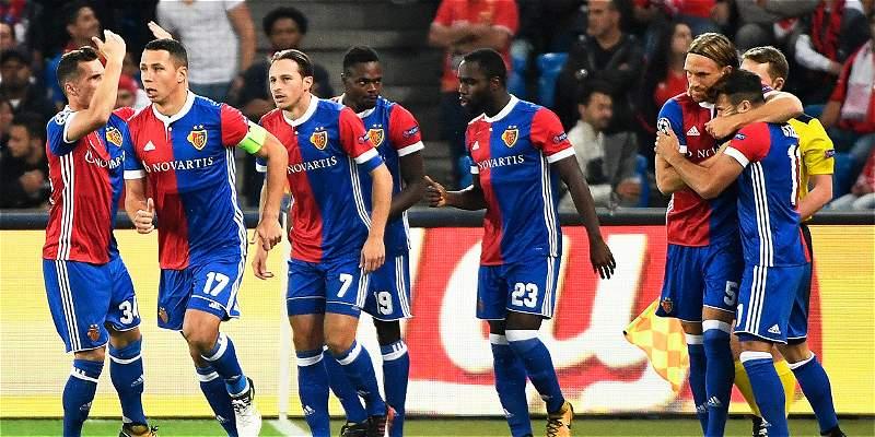 Basilea y Manchester United golearon a sus rivales en el grupo A