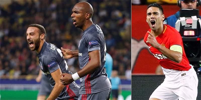 El gol de Falcao no bastó: Mónaco cayó 1-2 con Besiktas en Champions