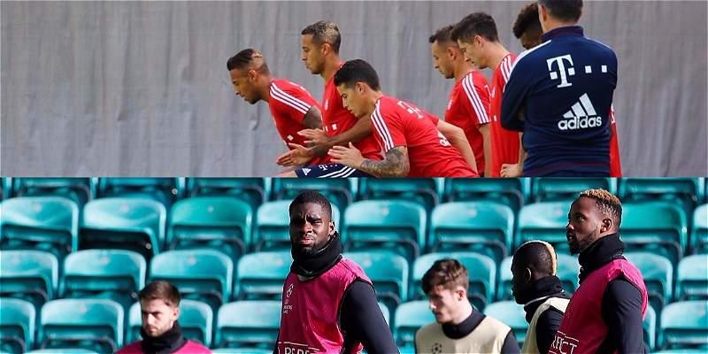 Bayern se mide contra el Celtic en Champions ¿será el turno de James?