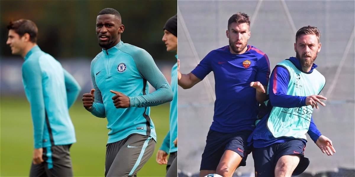 Chelsea-Roma, dos equipos golpeados en su liga se prueban en Champions