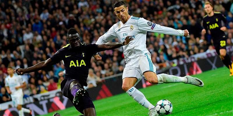 Dávinson Sánchez, titular en Tottenham contra Real Madrid en Champions