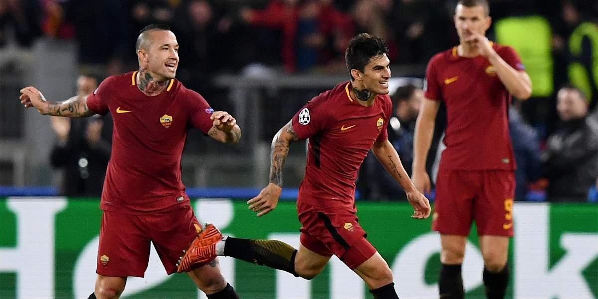 Roma gana, golea y lidera su grupo en Champions: 3-0 al Chelsea