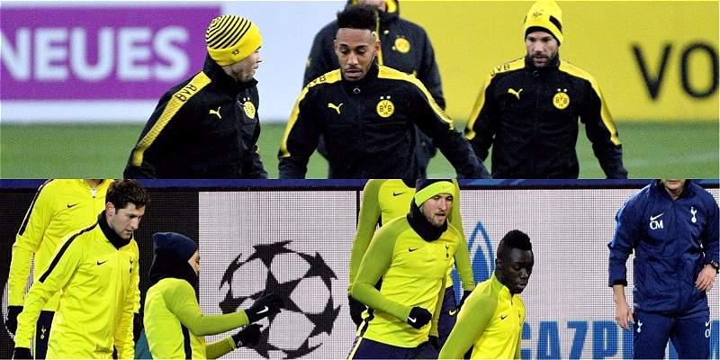 Tottenham y Dávinson, por el liderato del grupo H contra B. Dortmund