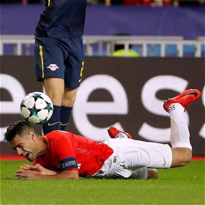 Falcao no evitó la caída 4-1 de Mónaco ante Leipzig ni la eliminación