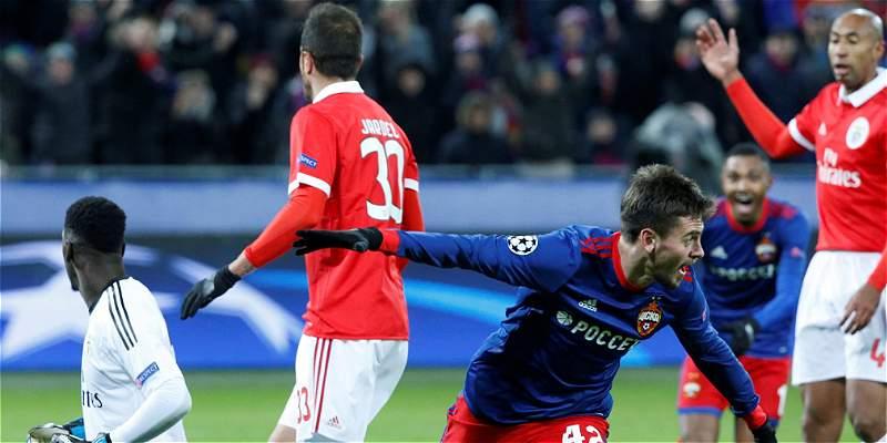 CSKA venció a Benfica
