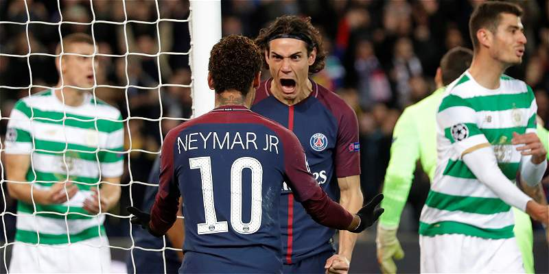 Neymar y Cavani
