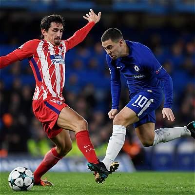 Atlético empató 1-1 con Chelsea y deberá jugar la Europa League