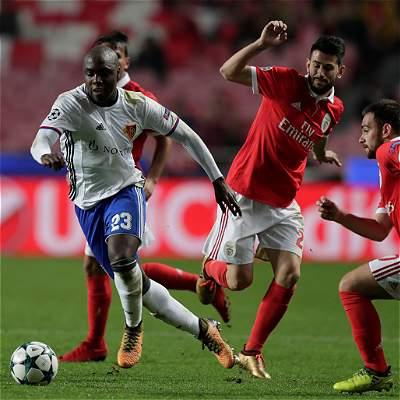 El Basilea de Balanta ganó y clasificó a octavos de Champions League
